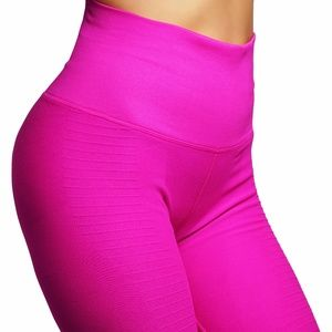 Pants - High compression workout leggings with high waist